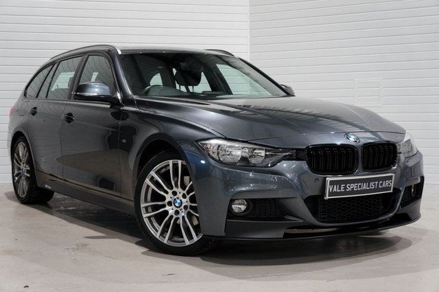 2015 65 BMW 3 SERIES 2.0 320D XDRIVE M SPORT TOURING (SAT NAV / PAN ROOF / PARK PACK)