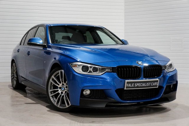 2015 15 BMW 3 SERIES 2.0 320D M SPORT AUTO  (SAT NAV / SUN ROOF / M SPORT PLUS)