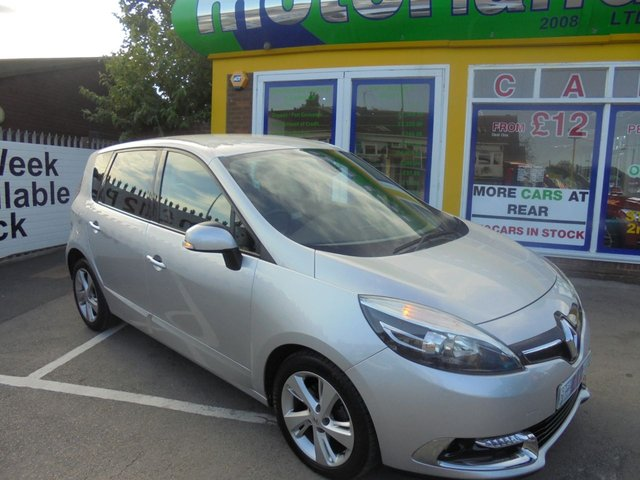 USED 2013 63 RENAULT SCENIC 1.6 DYNAMIQUE TOMTOM DCI S/S 5d 130 BHP