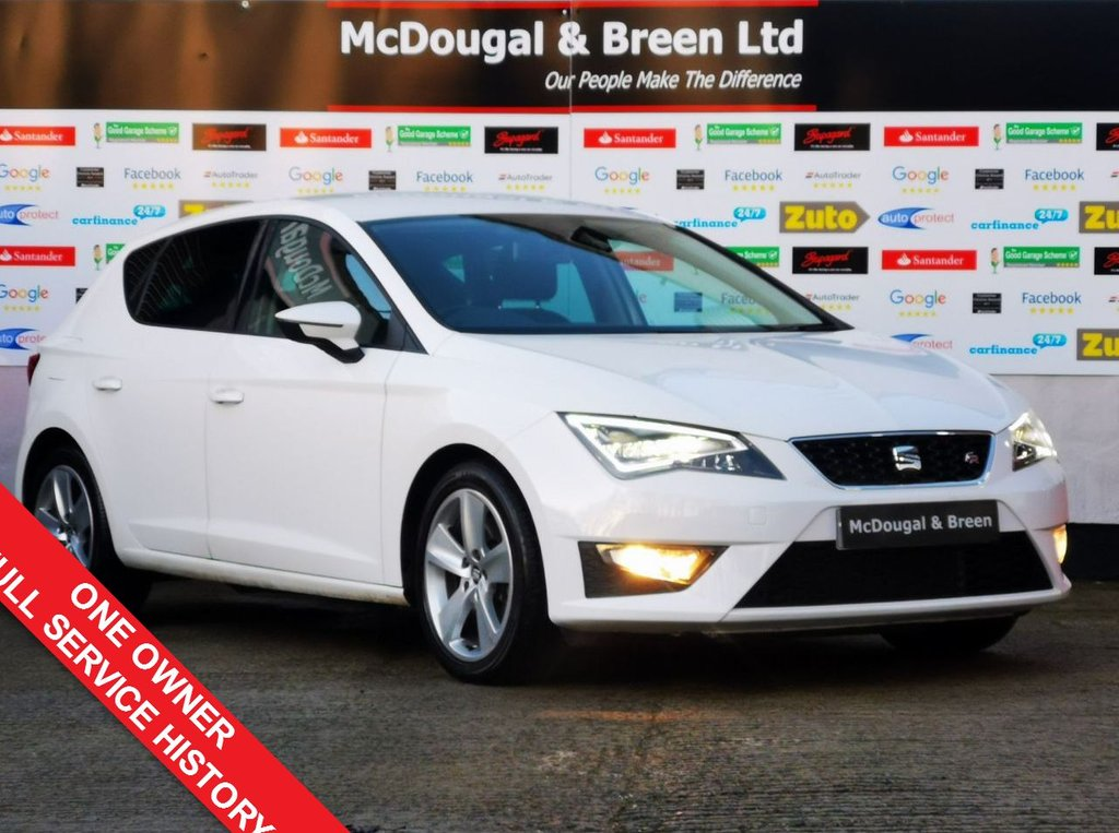 USED 2016 66 SEAT LEON 2.0 TDI FR TECHNOLOGY 5d 184 BHP