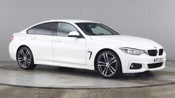 2017 BMW 4 SERIES GRAN COUPE 2.0 420D M SPORT GRAN COUPE 4d 188 BHP £18490.00