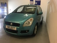 USED 2008 58 SUZUKI SPLASH 1.2 GLS PLUS 86 BHP AUTOMATIC 5Dr Very Rare To the Market A Fabulous Suzuki Splash 1.2 GLS Plus AUTOMATIC Finished In Lagoon Turguoise Metallic With Contrasting Two Tone Anthracite And Shark Grey Cloth, This Car Has Covered Less Than 38,000 Miles From New With Just 2 Owners From the Same Family, Supplied And Serviced At Suzuki Wallsend, If You are Looking For a Small 5 Door Automatic With Low Mileage And Only A Couple Of Owners This Will Be The Car For You, In Superb Condition Inside And Out And A Doddle To Drive, Alloy Wheels,