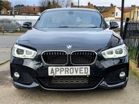 USED 2016 65 BMW 1 SERIES 1.6 120I M SPORT 3d 167 BHP Full Cream Heated Leather, HARMON KARDON Sound system, Zenon running lights + Heated Seats more!