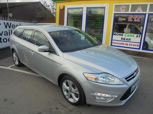 USED 2012 12 FORD MONDEO 2.0 TITANIUM TDCI 5d 138 BHP JUST ARRIVED DIESEL AUTOMATIC ESTATE
