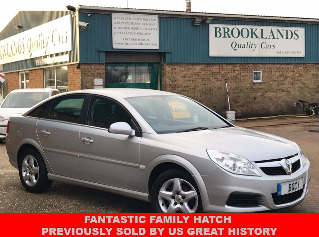 USED 2007 57 VAUXHALL VECTRA 1.8 VVT EXCLUSIV 5 Door Star Silver Metallic 11 x Service 140 BHP Fantastic Family Hatch Previously Sold by Us Great History