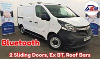 2014 VAUXHALL VIVARO 1.6 2900 CDTI in White with Bluetooth, Roof Bars, 2 Sliding Doors, Stop/Start, Rear Parking Sensors, Mobile Workshop and more £7980.00