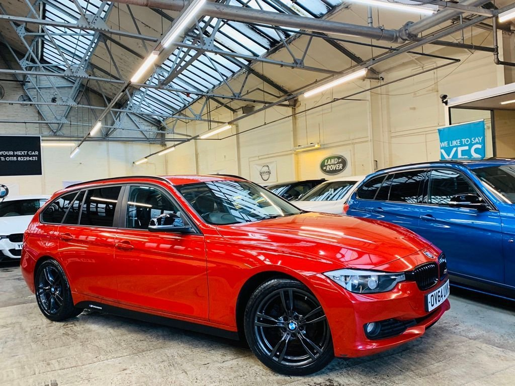 USED 2014 64 BMW 3 SERIES 2.0 320d EfficientDynamics Business Edition Touring (s/s) 5dr BLACK PACK+MSPORT18S+HTDLTHR!