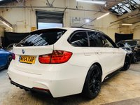 USED 2014 64 BMW 3 SERIES 2.0 320d BluePerformance M Sport Touring (s/s) 5dr PERFORMANCE-KIT+PANRF+HTD-LTHR
