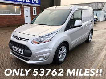 2014 FORD TRANSIT CONNECT 1.6 200 LIMITED L1 SWB 115 BHP £7250.00