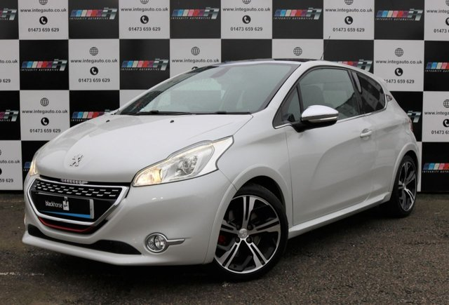 2015 15 PEUGEOT 208 1.6 THP GTI LIMITED EDITION 3d 200 BHP