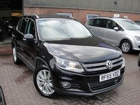 USED 2016 65 VOLKSWAGEN TIGUAN 2.0 MATCH EDITION TDI BMT 4MOTION DSG 5d 148 BHP ANY PART EXCHANGE WELCOME, COUNTRY WIDE DELIVERY ARRANGED, HUGE SPEC