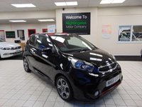 USED 2016 66 KIA PICANTO 1.2 CHILLI ISG 3d 84 BHP ONLY 6500 MILES + SERVICE HISTORY + MANUFACTURERS WARRANTY + SATELLITE NAVIGATION + BLUETOOTH + REVERSING CAMERA +AIR CONDITIONING + ALLOYS + DAB RADIO + USB AND AUX PORTS + ELECTRIC WINDOWS + REMOTE CENTRAL LOCKING + 60/40 REAR SEAT SPLIT + GREAT MPG