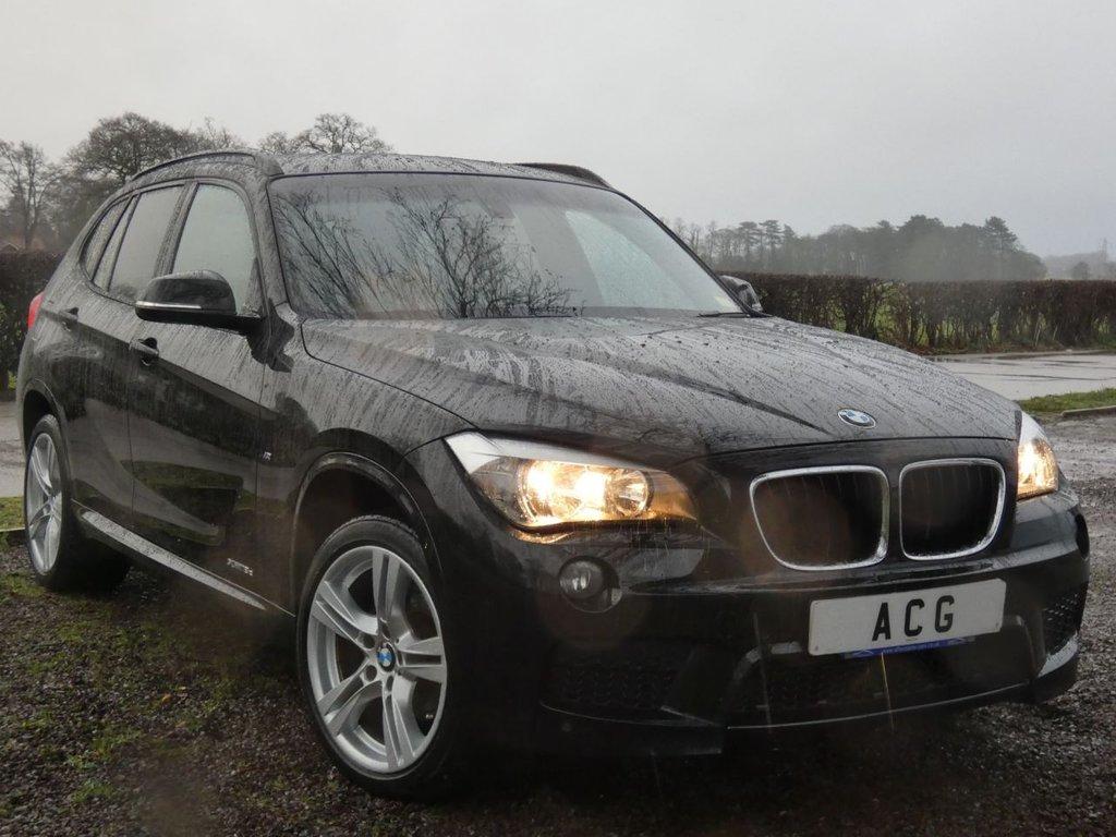 USED 2014 14 BMW X1 2.0 XDRIVE18D M SPORT 5d AUTO 141 BHP