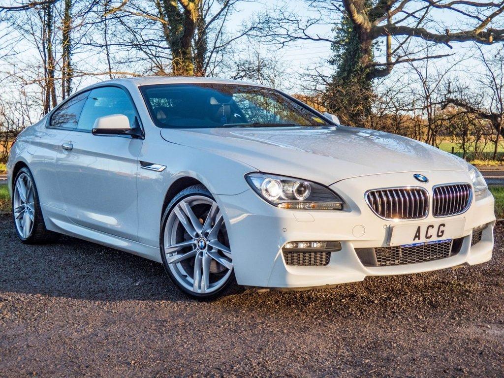 USED 2013 13 BMW 6 SERIES 3.0 640D M SPORT 2d AUTO 309 BHP