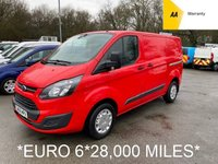 USED 2016 66 FORD TRANSIT CUSTOM *EURO 6* 2.0 TDCi 270 L1 SWB *28,000 MILES*COLOUR CODED*