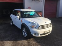 2012 MINI COUNTRYMAN 1.6 COOPER D 5d 112 BHP £5695.00
