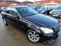 2011 MERCEDES-BENZ C CLASS 1.8 C180 BLUEEFFICIENCY SE 4d 155 BHP £5990.00