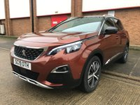 USED 2019 19 PEUGEOT 3008 2.0 BLUEHDI S/S GT LINE 5d 180 BHP