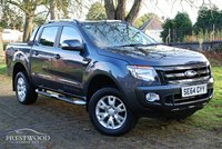 USED 2015 64 FORD RANGER 3.2 TDCI WILDTRAK 4X4 DOUBLE CAB PICK UP [200 BHP]