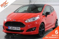 USED 2015 64 FORD FIESTA 1.0 ZETEC S RED EDITION 3d 139 BHP FULL SERVICE HISTORY + FINANCE AVAILABLE