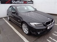 USED 2010 10 BMW 3 SERIES 2.0 318D M SPORT 4d 141 BHP Automatic diesel 8 service stamps supplied with service popular car in sought after colour