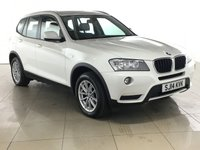 USED 2014 14 BMW X3 2.0 SDRIVE18D SE 5d 141 BHP LEATHER | ALLOYS | AIR CON |