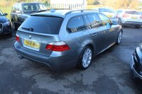 USED 2008 08 BMW 5 SERIES 3.0 530D M SPORT TOURING 5d 232 BHP