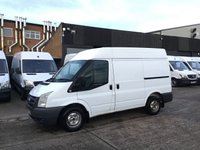USED 2010 10 FORD TRANSIT 2.2TDCI T260 SWB HIGH ROOF. TOWBAR. 139K. FINANCE. PX FINANCE. GOOD SIZE FOR LITTLE MONEY. PX WELCOME