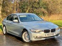 USED 2013 13 BMW 3 SERIES 2.0 320D LUXURY 4d 184 BHP FULL HEATED LEATHER INTERIOR, SAT NAV
