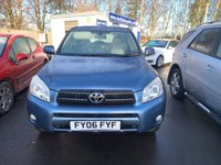 USED 2006 06 TOYOTA RAV4 2.0 XT4 VVT-I 5d 151 BHP FULL LEATHER, FULL HISTORY, 12 MONTH MOT, 4X4