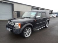 2008 LAND ROVER DISCOVERY 2.7 3 TDV6 XS 5d 188 BHP MANUAL SAT NAV LEATHER 7 SEATER CAT S £5991.00