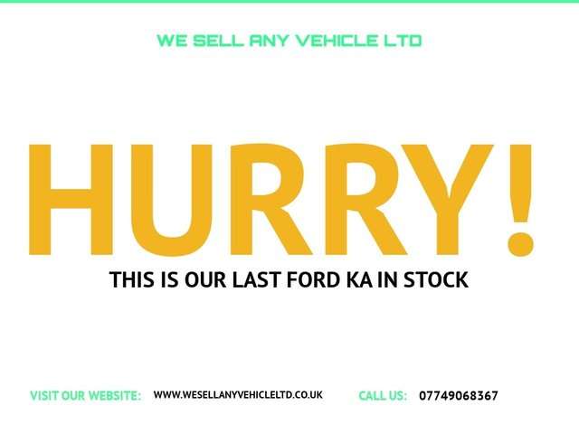 USED 2010 10 FORD KA 1.2 STYLE PLUS 3d 69 BHP LOW MILES CHEAP INSURANCE