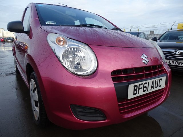 USED 2011 61 SUZUKI ALTO 1.0 SZ2 5d VERY CHEAP INSURANCE AND TAX