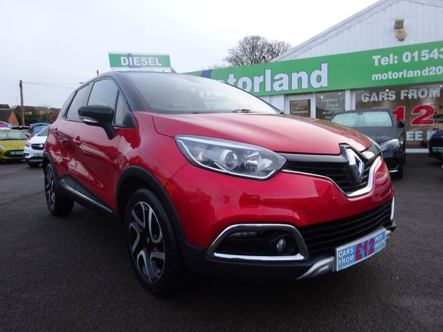 USED 2015 64 RENAULT CAPTUR 1.5 SIGNATURE ENERGY DCI S/S 5d 90 BHP ** 01543 877320 ** JUST ARRIVED **