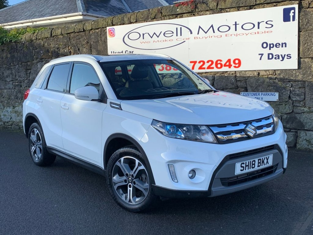 USED 2018 18 SUZUKI VITARA 1.6 SZ5 5d 118 BHP PANORAMIC ELECTRIC SUNROOF+SATELLITE NAVIGATION+1 OWNER+FULL SERVICE HISTORY+REVERSING CAMERA
