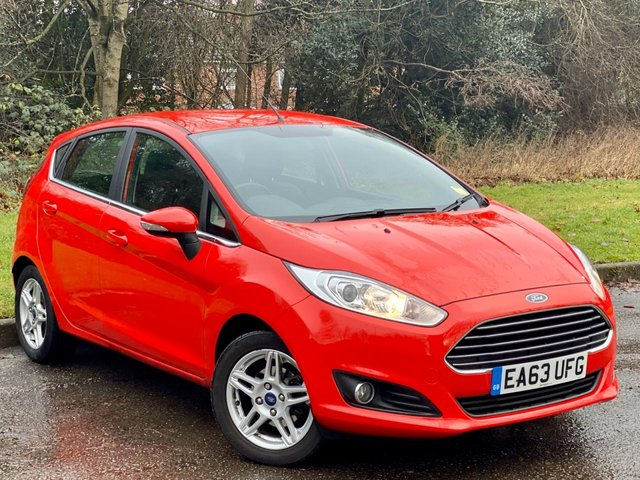 USED 2013 63 FORD FIESTA 1.2 ZETEC 5d 81 BHP LOW MILEAGE STARTER CAR