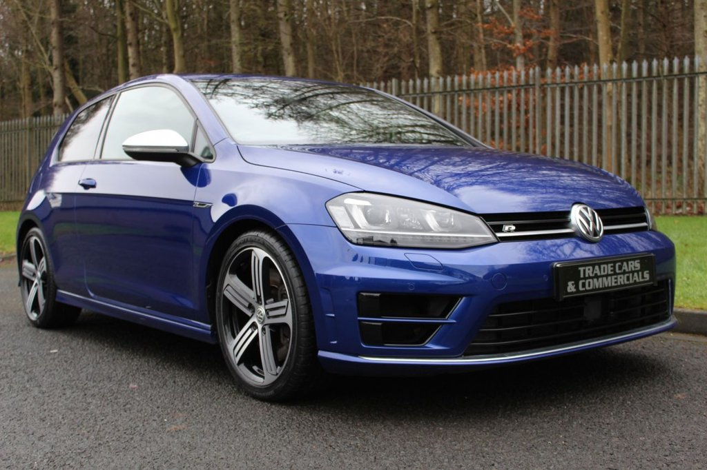USED 2015 65 VOLKSWAGEN GOLF 2.0 R DSG 3d 298 BHP A CLEAN EXAMPLE WITH A FULL VW DEALER SERVICE HISTORY!!!
