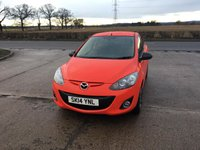 USED 2014 14 MAZDA 2 1.3 SPORT COLOUR EDITION 5d 83 BHP