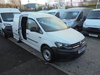 USED 2016 66 VOLKSWAGEN CADDY MAXI 1.6 TDI C20 STARTLINE BLUEMOTION TECHNOLOGY 101 BHP FIVE SEAT CREW VAN, ELECTRIC PACK / CRUISE CONTROL / VW SERVICE HISTORY £££ FINANCE AVAILABLE £££ VW CADDY MAXI FIVE SEAT CREW VAN
