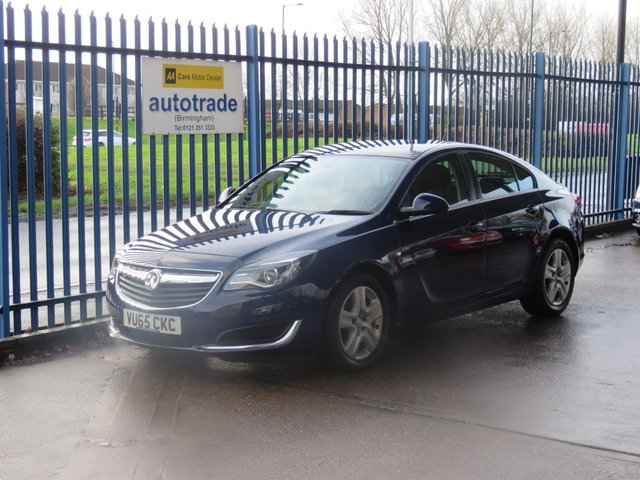 USED 2015 65 VAUXHALL INSIGNIA 2.0 DESIGN CDTI ECOFLEX S/S 5d 167 BHP ULEZ COMPLIANT Ulex compliant Finance arranged Part exchange available Open 7 days