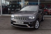 USED 2013 63 JEEP GRAND CHEROKEE 3.0 V6 CRD SUMMIT 5d 247 BHP FINANCE TODAY WITH NO DEPOSIT