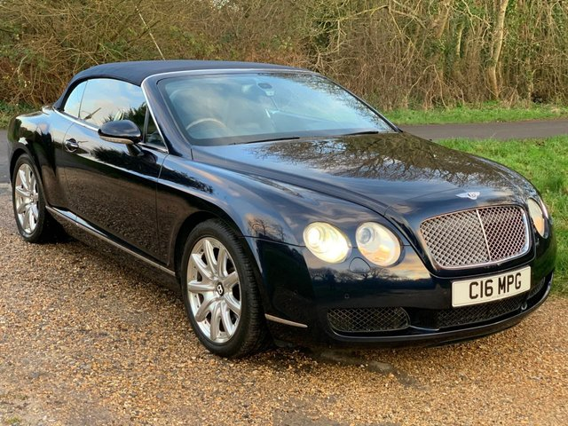 USED 2007 C BENTLEY CONTINENTAL 6.0 GTC 2d 550 BHP F/S/H, LEATHER, HEATED SEATS