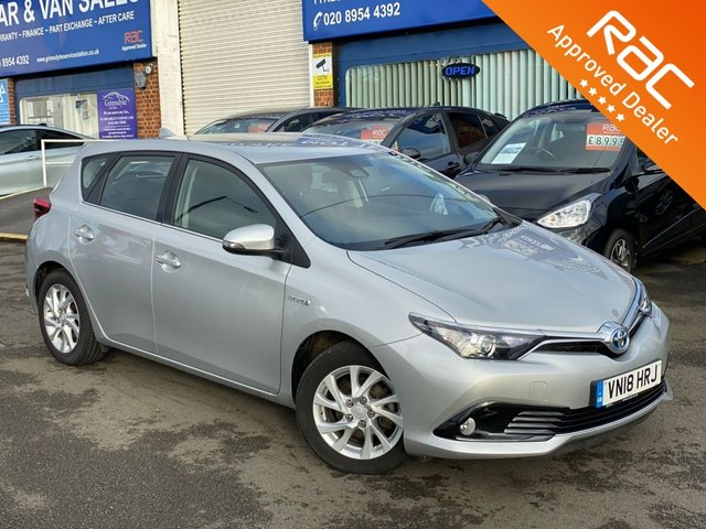 2018 18 TOYOTA AURIS 1.8 VVT-I ICON TECH 5d 135 BHP