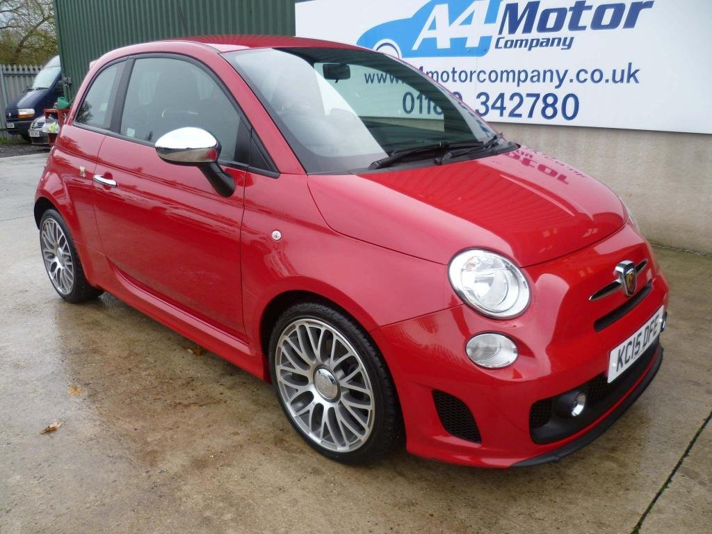 USED 2015 15 ABARTH 500 1.4 T-Jet 3dr £0 DEPOSIT FINANCE AVAILABLE!!