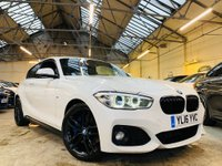 USED 2016 16 BMW 1 SERIES 2.0 118d M Sport (s/s) 3dr PERFORMANCEKIT+18S+HARMAN+HTD