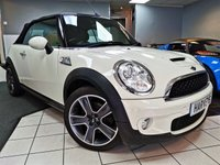USED 2010 10 MINI CONVERTIBLE 1.6 COOPER S 2d 184 BHP