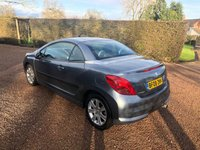 USED 2008 08 PEUGEOT 207 1.6 SPORT COUPE CABRIOLET 2d 118 BHP Lovely looking car at a great value!