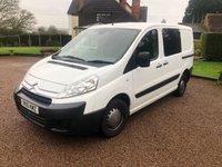 USED 2010 10 CITROEN DISPATCH 1.6 1000 L1H1 SWB HDI 90 6d 89 BHP NO VAT... Good quality working van .