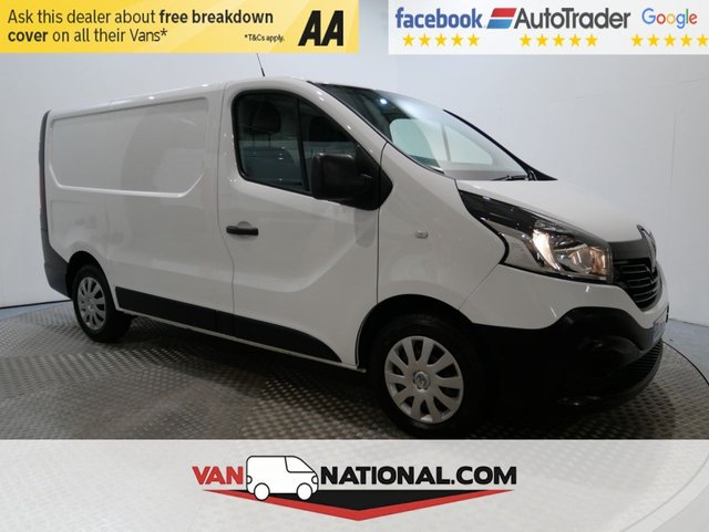 USED 2016 65 RENAULT TRAFIC 1.6 SL27 BUSINESS DCI S/R P/V 115 BHP (AIR CON SUPER LOW MILES) * ONE OWNER * AIR CON * DAB * 12 MONTH WARRANTIES AVAILABLE FROM JUST £249 *
