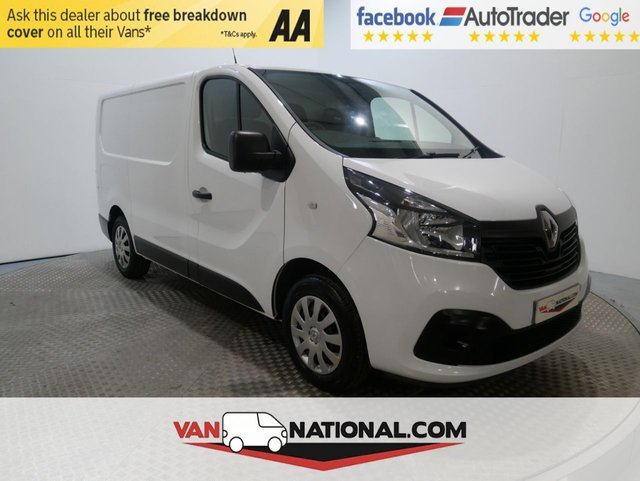USED 2016 16 RENAULT TRAFIC 1.6 SL27 BUSINESS PLUS ENERGY DCI S/R P/V 120 BHP (AIR CON SWB READY TO GO) * AIR CON * REAR SENSORS * DAB * 12 MONTH WARRANTIES AVAILABLE FROM JUST £199 *